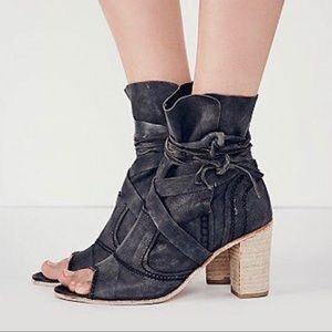 Free people daydreamer booties size 41 vguc